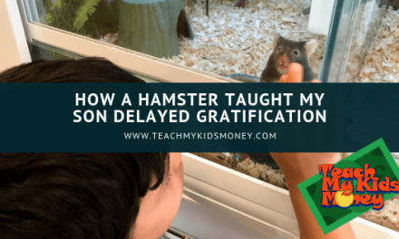 How a hamster taught my son delayed gratification